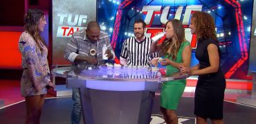"UFC Bantamweight Champ Miesha Tate + Khalil Rountree Compete In ""The Ultimate"" Cupcake Eating Competition"