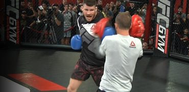 UFC 199: Michael Bisping's Complete Open Workout w/ Coach Jason Parillo