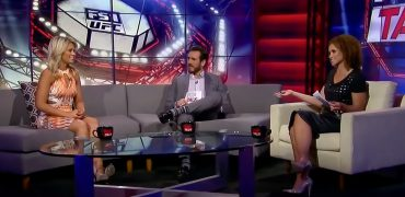 FS1's TUF Talk: Paige VanZant Shares Her Jedrzejczyk vs. Gadelha 2 Prediction With Karyn Bryant And Kenny Florian
