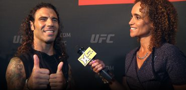 UFC 199: Clay Guida On Fighting Rising Star Ortega, Garbrandt's Almeida KO + Cruz vs Faber Trilogy