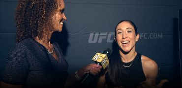 UFC 199: After Loss To Champ, Jessica Penne Knows She'll Always Come Forward. Always.