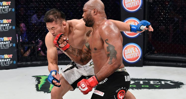 Bellator 157: Rampage Defeats Ishii and Michael Chandler Claims Vacant Lightweight Championship Belt