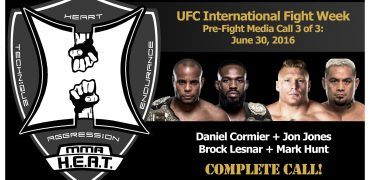 UFC International Fight Week Media Call: Cormier, Jones, Lesnar + Hunt (LIVE! complete/unedited)