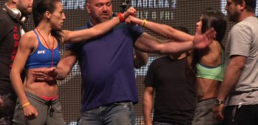 The Ultimate Fighter 23 Finale: Jedrzejczyk vs Gadelha Weigh-ins + Face-Offs (complete/unedited)