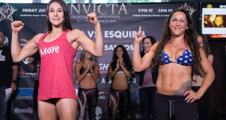 Invicta FC 18: Grasso vs Esquivel Weigh-ins (photos)