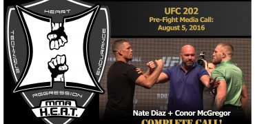 UFC 202 Pre-Fight Media Call: Nate Diaz and Conor McGregor (complete / unedited)