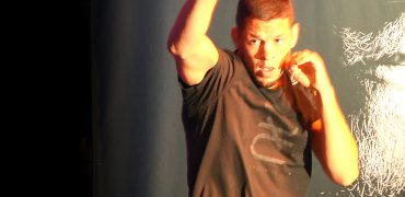 "UFC 202: Nate Diaz Works Out Before McGregor Rematch; Calls Nick The ""Master Ninja"""