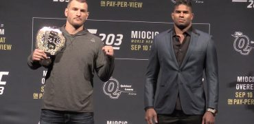 UFC 203 Pre-Fight Staredowns: Miocic vs Overeem, Werdum vs Browne + CM Punk vs Gall