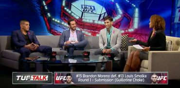 FS1's TUF Talk: Anthony Pettis and Matt Schnell Discuss TUF 24 with Karyn Bryant and Kenny Florian