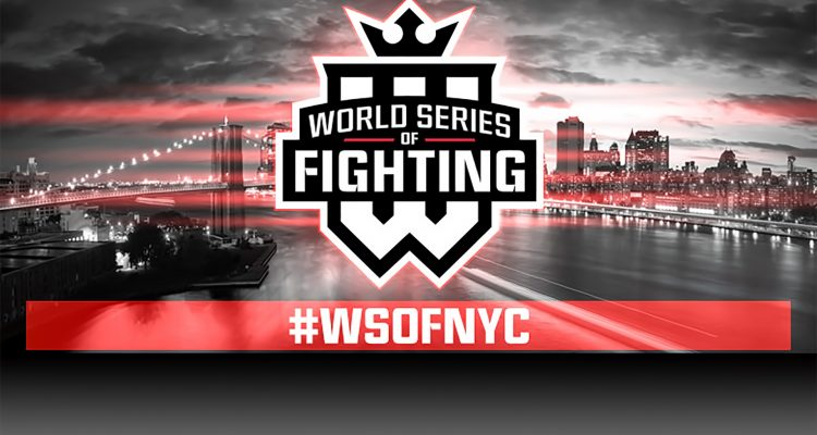 World Series Of Fighting Announces Monumental New Years Eve NYC Show