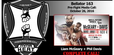 Bellator 163: LHW Champ Liam McGeary vs Phil Davis + Scott Coker Full Media Call