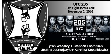 UFC 205: Woodley / Thompson + Jedrzejczyk / Kowalkiewicz Pre-Fight Media Conference Call (FULL)