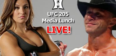 UFC 205 Media Luncheon w/ Donald Cerrone and Miesha Tate