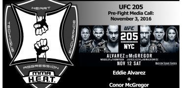 UFC 205: Eddie Alvarez + Conor McGregor Pre-Fight Media Conference Call (FULL)