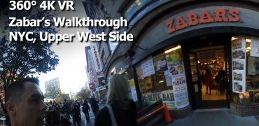 A Walkthrough of Zabar's (360° 4K VR) - New York City, Upper West Side