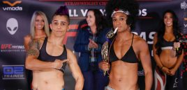 Invicta FC 20: Evinger vs Kunitskaya / Hill vs Medeiros Weigh-ins (photos)