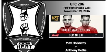 UFC 206: Max Holloway + Anthony Pettis Pre-Fight Media Conference Call (FULL)