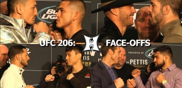 UFC 206 Face-Offs: Holloway vs Pettis, Cerrone vs Brown; Swanson vs Choi; Kennedy vs Gastelum