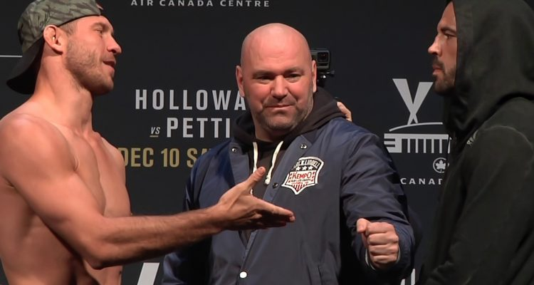 "UFC 206: Donald ""Cowboy"" Cerrone vs ""The Immortal"" Matt Brown Weigh-In + Staredown (HD)"