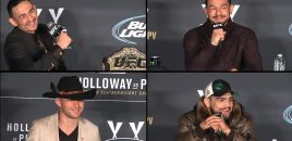 (360° VR / 4K) UFC 206 Post-Fight: Interim FW Champ Max Holloway, Swanson, Cerrone + Gastelum