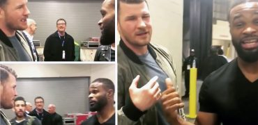 UFC Champs' Challenge: Bisping vs Woodley?