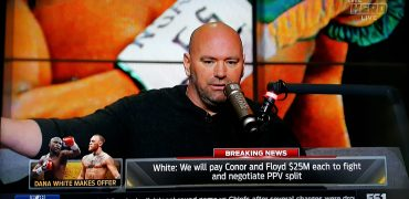 Dana White Offers Floyd Mayweather + Conor McGregor $25 Million Each To Fight & Negotiate PPV Split