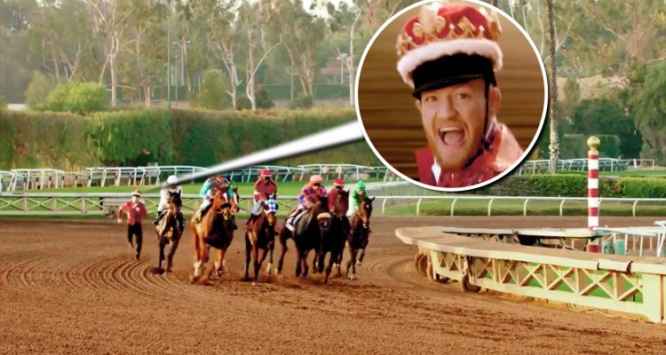 UFC Champ Conor McGregor Races Thoroughbred Horses On Foot! (ep 4 FULL)