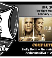 UFC 208: Holm vs De Randamie + Silva vs Brunson Pre-Fight Media Conference Call (FULL)