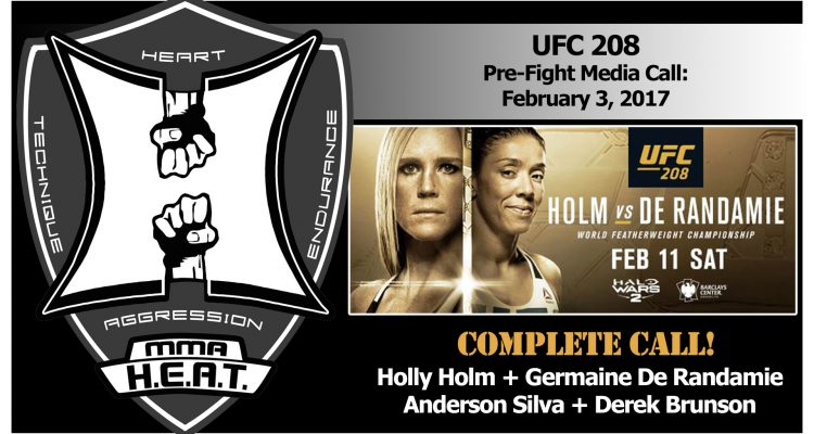 UFC 208: Holm vs De Randamie + Silva vs Brunson Pre-Fight Media Conference Call (FULL)