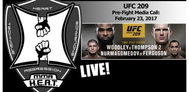 UFC 209: Woodley vs Thompson + Nurmagomedov vs Ferguson Pre-Fight Media Call (LIVE! / FULL)