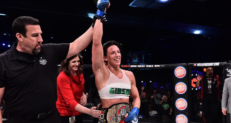 Bellator 174: Julia Budd Becomes Bellator's Inaugural Featherweight Champ; Marloes Coenen Retires (photos)