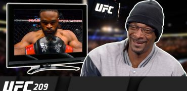 Snoop Dogg Breaks Down UFC Welterweight Champion Tyron Woodley's Career Highlights