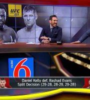 Rashad Evans Drops Split Decision To Daniel Kelly At UFC 209