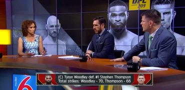 Highlights From UFC 209 Woodley vs Thompson 2 Title Fight