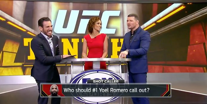 """""""Shot Caller"""" On UFC Tonight: Florian And Bisping Do Their Best Impressions Of McGregor, Diaz, Rockhold + Romero"""