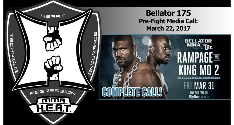 "Bellator 175: Quinton ""Rampage"" Jackson vs Muhammed ""King Mo"" Lawal 2 Pre-Fight Media Call (FULL)"