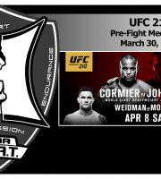 UFC 210: Cormier vs Johnson 2 + Weidman vs Mousasi Pre-Fight Media Call (LIVE! / FULL)