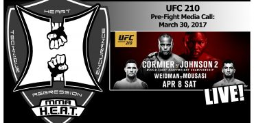 UFC 210: Cormier vs Johnson 2 + Weidman vs Mousasi Pre-Fight Media Call (LIVE! / FULL)
