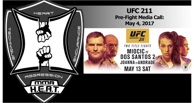 UFC 211: Miocic vs Dos Santos 2 + Jedrzejczyk vs Andrade Pre-Fight Media Call (LIVE! / FULL)