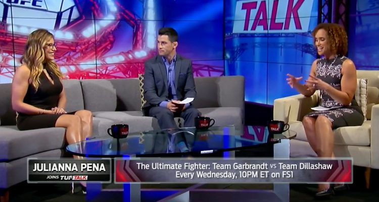 FS1's TUF Talk: Julianna Pena Talks New Division, Marriage + Losing To Valentina Shevchenko