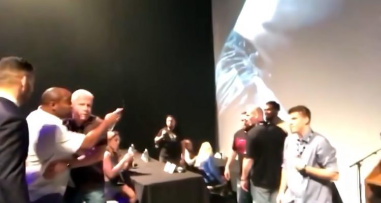 UFC LHW Champ Daniel Cormier + Former Champ Jon Jones Nearly Get Into Another Fight Backstage