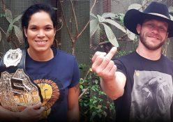 UFC 213: Champ Amanda Nunes + Donald Cerrone Talk Shevchenko, Lawler, Rousey, Cyborg, Trump + More!