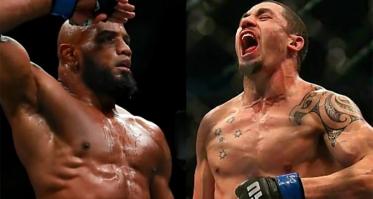 UFC 213: Yoel Romero vs Robert Whittaker For The Interim Middleweight Title!