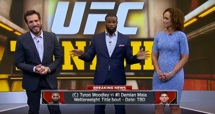 Tyron Woodley Squashes Rumor About Fighting Masvidal Instead of Demian Maia