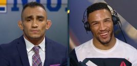 Kevin Lee Talks Submission Win Over Mike Chiesa On FS1 Post-Fight Show