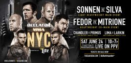 Bellator 180 + Bellator NYC Weigh-ins: Sonnen vs Silva, Fedor vs Mitrione + More!