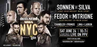 Bellator NYC - Madison Square Garden - June 24, 2017