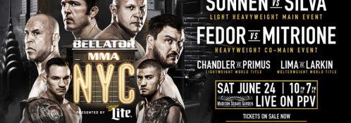Bellator NYC - Madison Square Garden - June 24, 2017