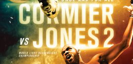 Official UFC 214: Cormier vs Jones 2 Poster Released!