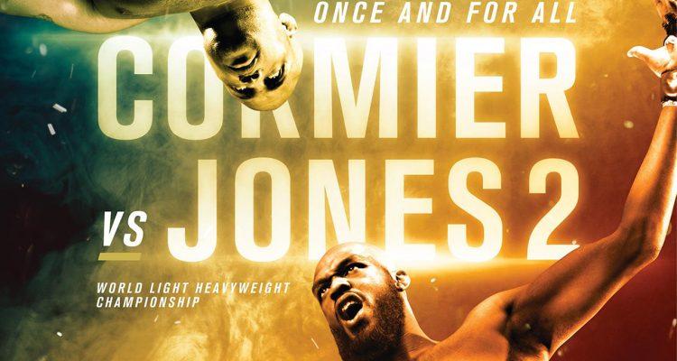 Official UFC 214: Cormier vs Jones 2 Poster Released!